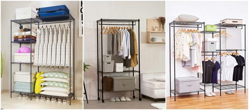 如何选购简易衣橱布衣柜-川井