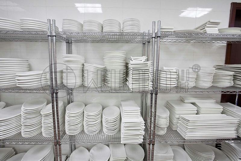 沙特酒店 工业厨房镀铬货架 工程项目 成功案例分享-川井