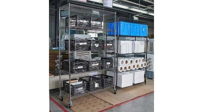 如何去鉴别线网镀铬货架的质量好坏?