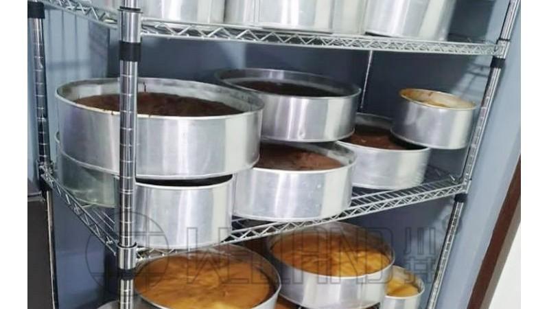 NSF认证环保安全储放面包货架食品级烘焙货架