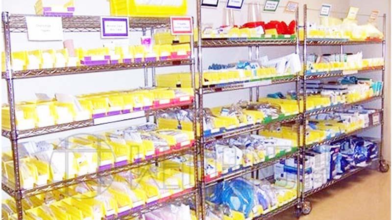 南方医科医院科室储物、无菌室储物、药房储物案例