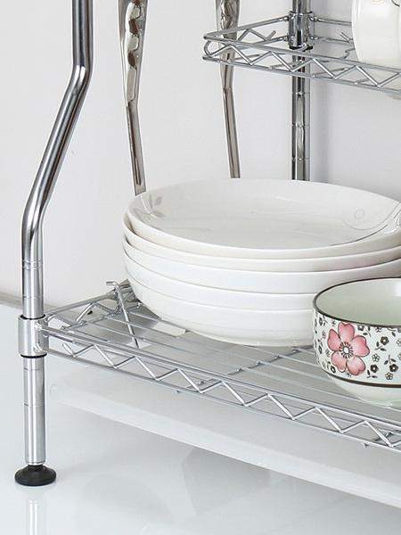 三层厨房碗碟架