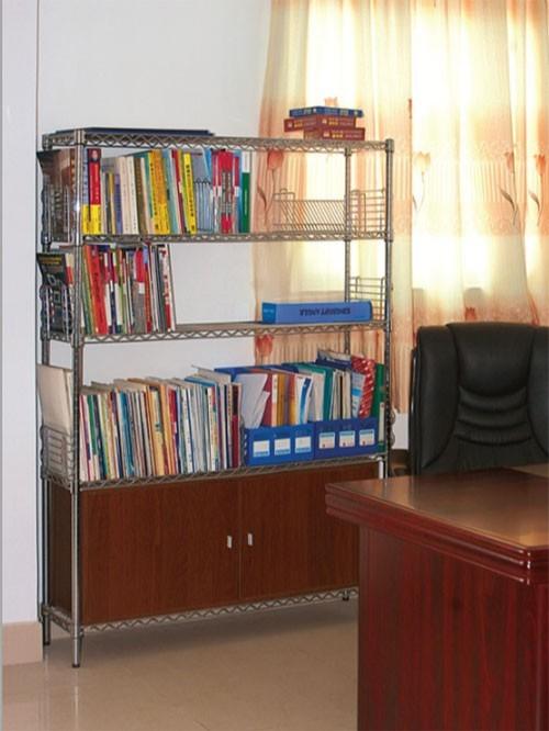 办公室资料文件落地式收纳架