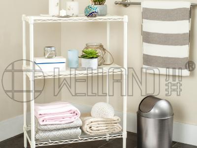 浴室整理收纳层架方案