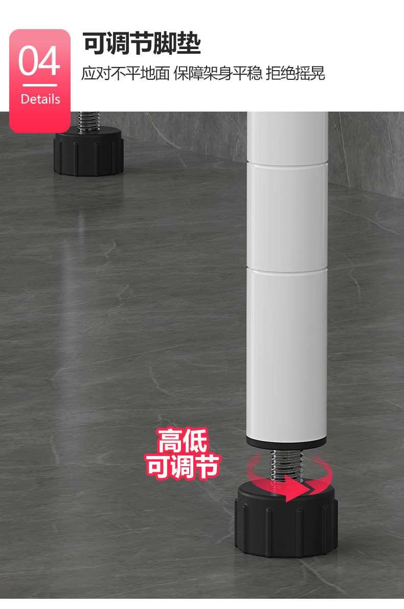 卫生间浴室厕所多功能马桶架_碳钢咖啡色搁架-川井 (11)