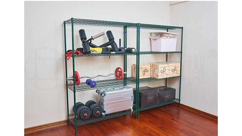健身房储物架小仓库储物架运动用品储物架