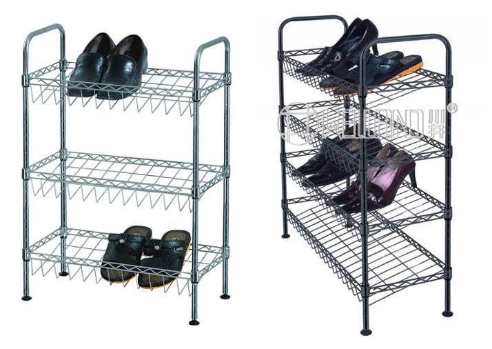 怎样选择简易金属鞋架-川井