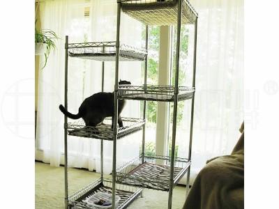 自制猫猫爬架猫窝猫树宠物笼子猫笼猫别墅自由空间