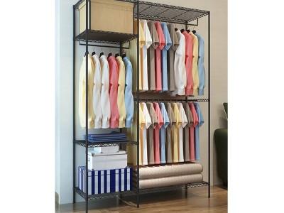 家庭简易衣橱架学生宿舍衣橱架公寓布衣柜