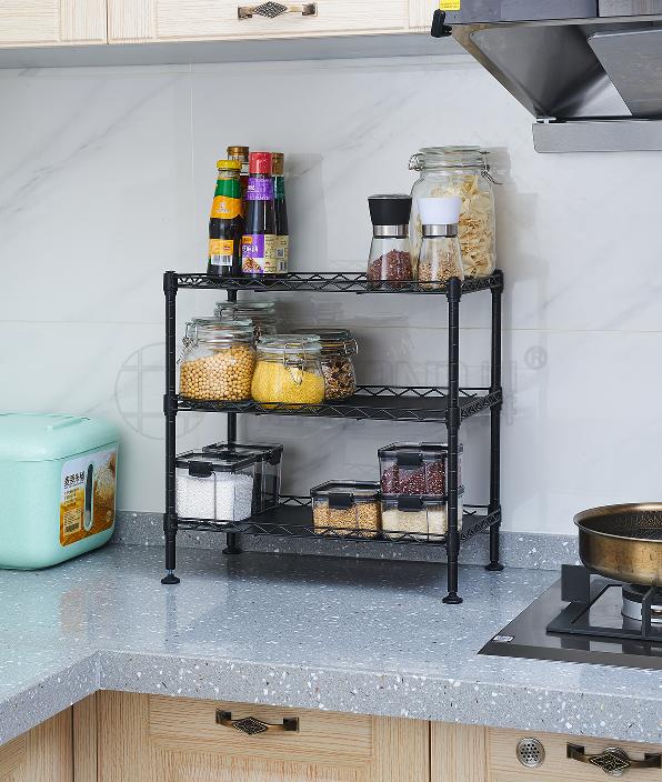 川井的厨房置物架质量如何