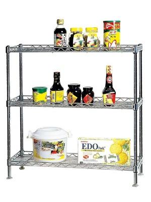 三层厨房调味品置物层架