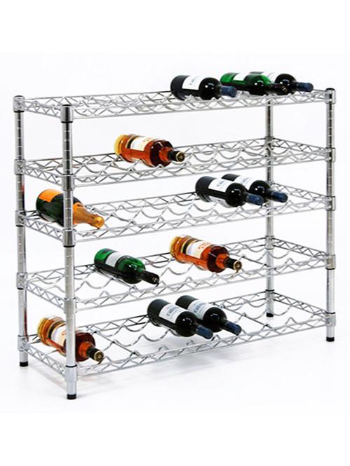 出口标准五层红酒展示收纳架