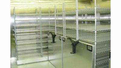 冷库专用仓储线网货架选购有什么注意?