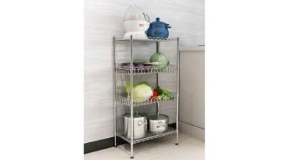 如何挑选一款合适的厨房置物货架?