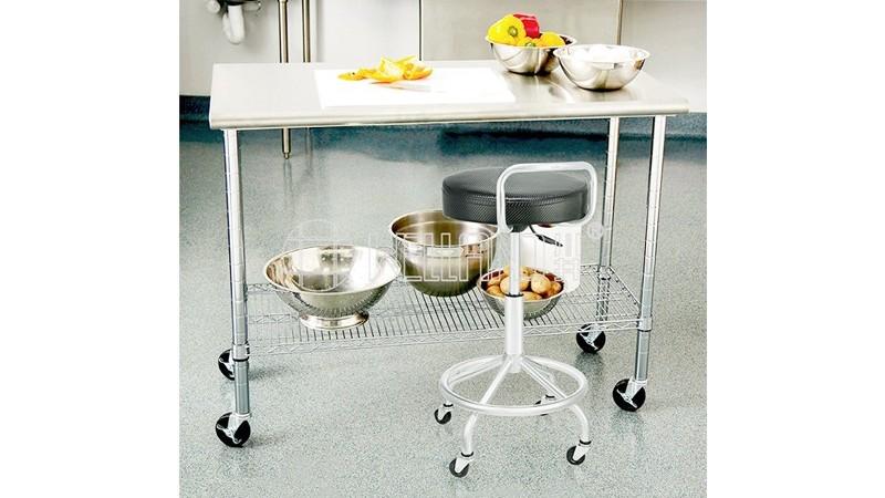酒店餐饮不锈钢工作台厨房台子不锈钢架子