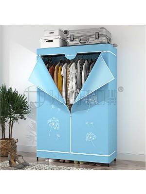 高档加厚家用多层布衣柜碳钢衣橱架