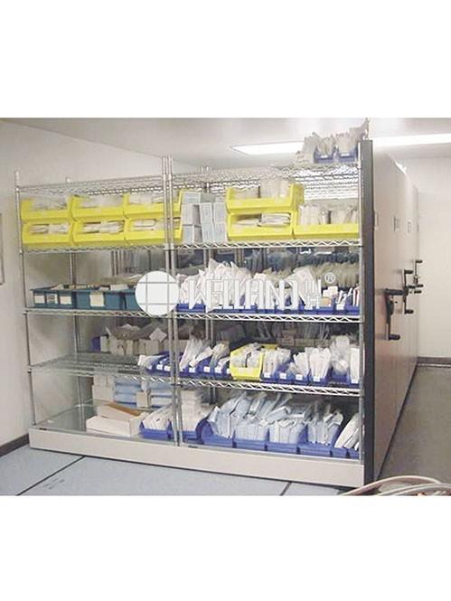 医院药房管理仓储工程网格镀铬组合置物架