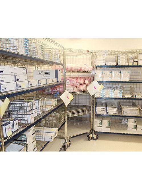 医院药房药品仓储收纳置物金属货架