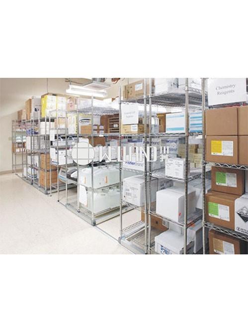 医疗用重型电镀铬线网药房药品货架