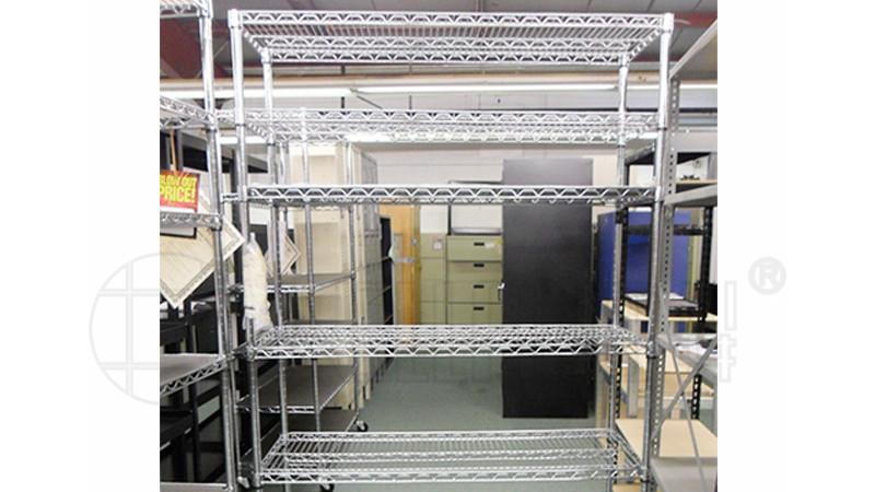 展会展示架样板间金属线网展示架