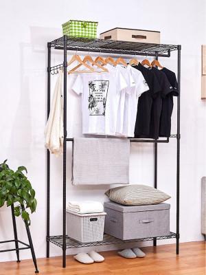 时尚双人精品布衣柜衣橱定制组合挂衣架批发