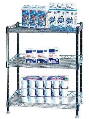 三层可调节杂物收纳储物架
