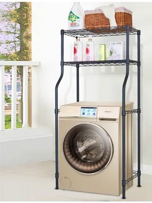 卫生间洗衣机金属收纳置物架