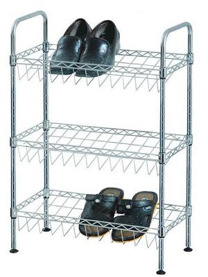 三层DIY金属鞋子收纳架