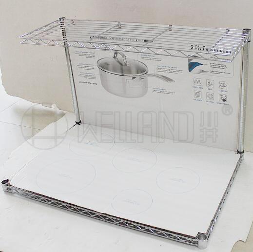 新款商用餐厨具展示架分享-川井