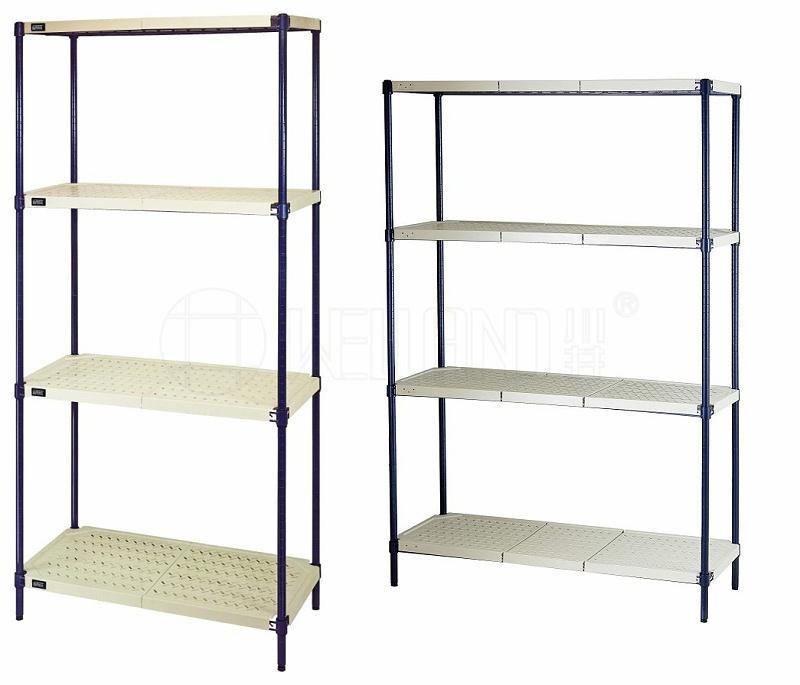 新款四层商用钢塑层架分享-川井