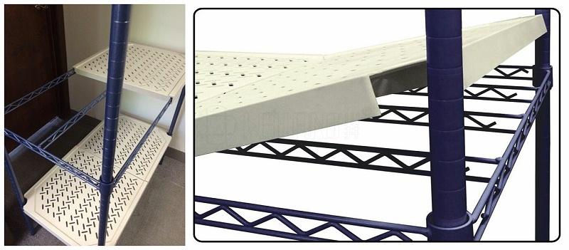 新款四层商用钢塑层架分享-川井 (2)