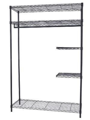 黑色碳钢钢管简易布衣柜