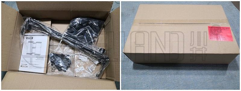 跨境电商爆款组合衣橱架通过摔箱测试包装分享(7)