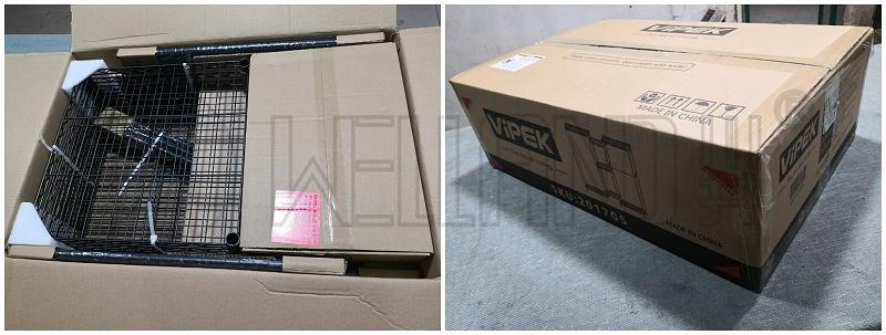 跨境电商爆款组合衣橱架通过摔箱测试包装分享(8)