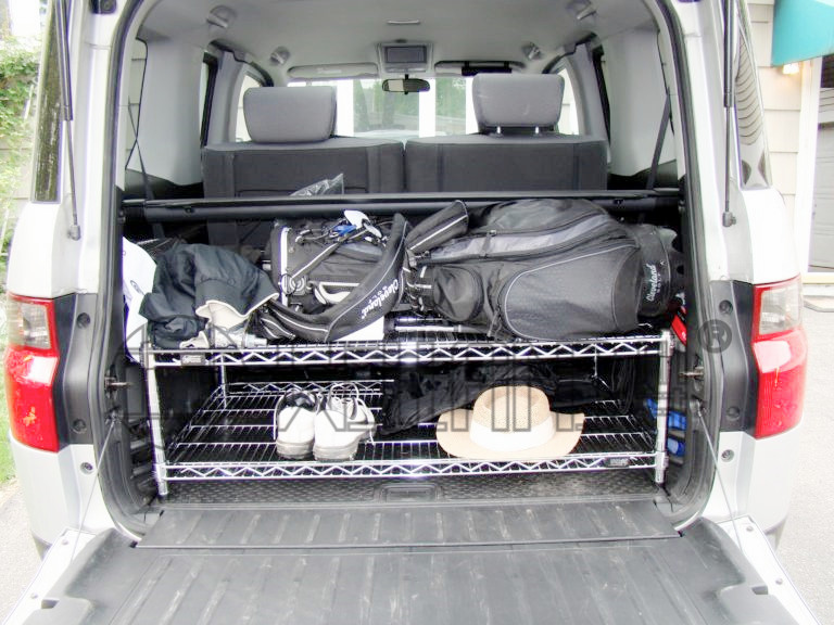 汽车后备箱储物架子小车后尾箱收纳架子-川井