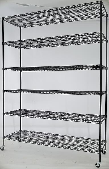 线网置物架表面电镀铬与电镀锌处理-川井 (4)