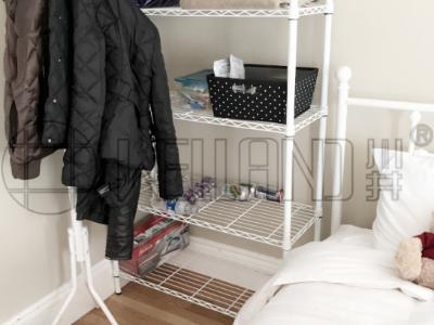 卧室收纳架房间置物架整理方案