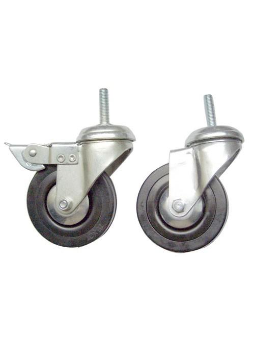 3寸橡胶工业脚轮