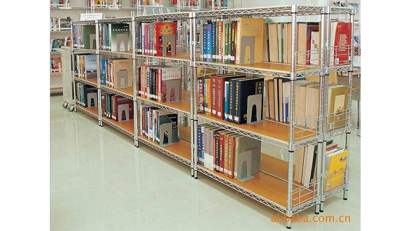 图书馆货架可移动单排货架书展架子
