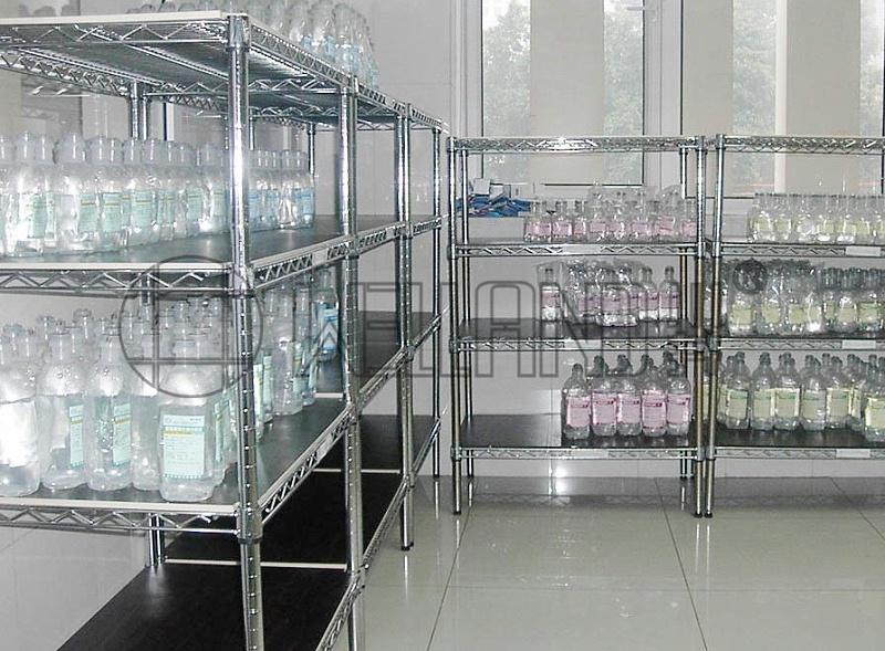 医院储物层架医疗货架无菌室储物架-川井