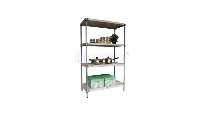 PP塑料ABS塑料胶板货架可水洗货架厨房用层架