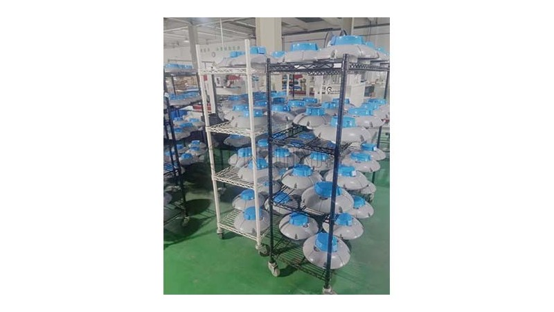 工厂用带边框 高承重带脚轮 可移动多层金属周转架