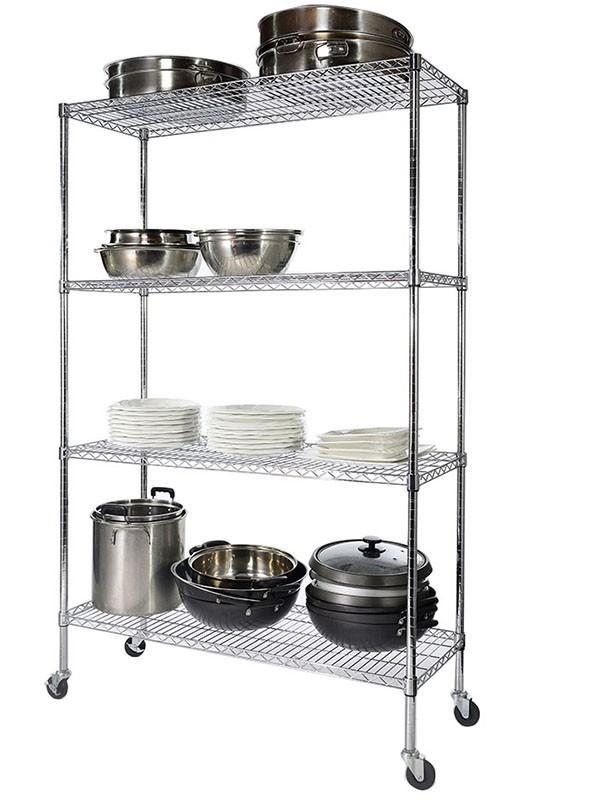 西式厨房餐饮用具用品置物架