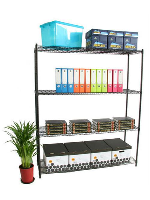 尺寸可选办公用品仓库储物可调层距置物架