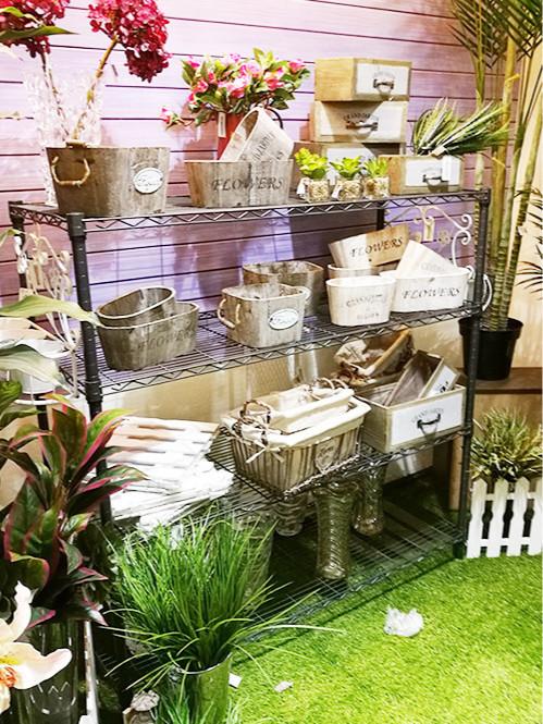 防锈能力强的园艺植物储放和展示置物架