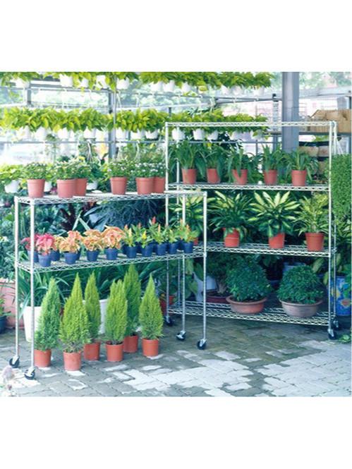 花草植物种植园艺盆栽储物架