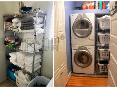 家居用洗衣机收纳架阳台洗衣机杂物置物架