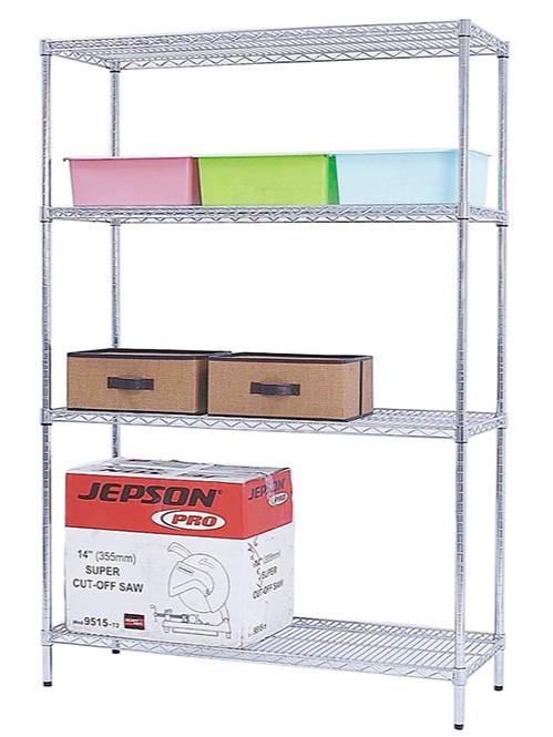 办公用品杂物储放镀铬置物架