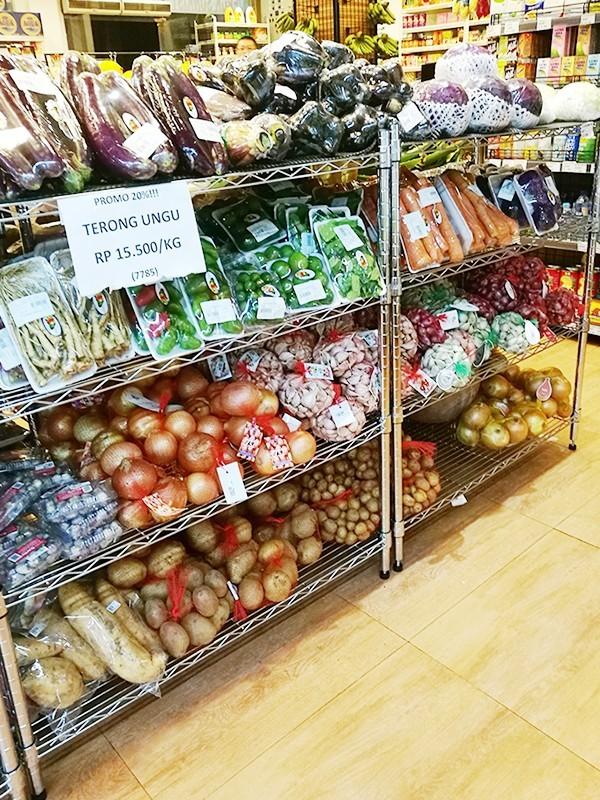 超市蔬菜生鲜置物架