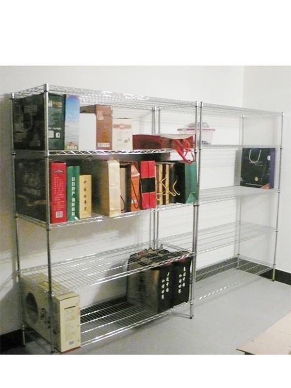 高承重多功能线网格仓储货架